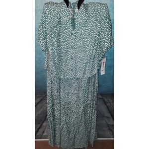 💋2 for $20 sale! 80s polka dot dress size 18P
